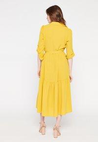 LolaLiza - Shirt dress - yellow - 2