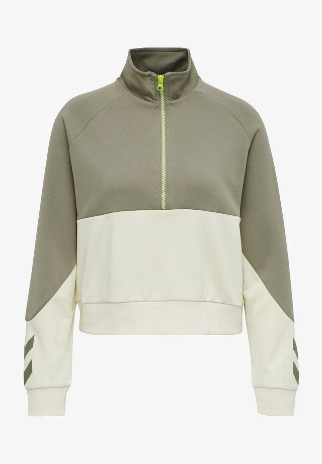 HMLESTRID  - Sweatshirt - eggnog