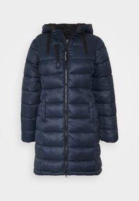 LINNA - Zimní kabát - dark ocean