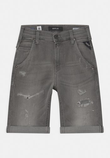Jeans Short / cowboy shorts - grey denim