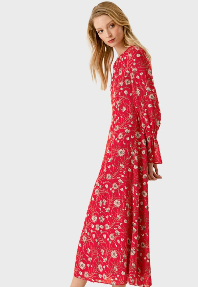 Maxi-jurk - lovers red