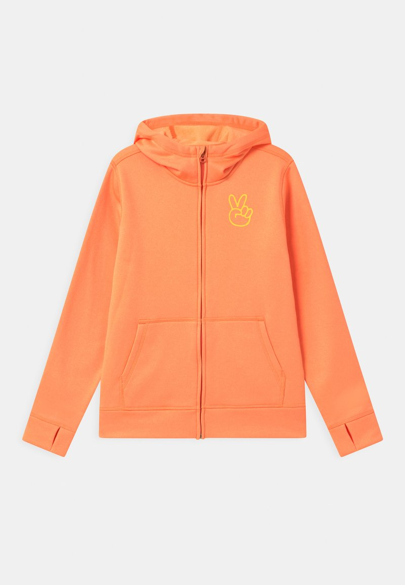 Burton - KIDS OAK FULL-ZIP HOODIE UNISEX - Sweater met rits - papaya heather