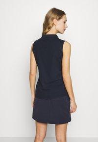Calvin Klein Golf - SLEEVELESS PERFORMANCE - Polo shirt - navy - 2