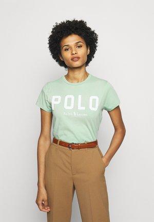 T-shirt con stampa - celedon