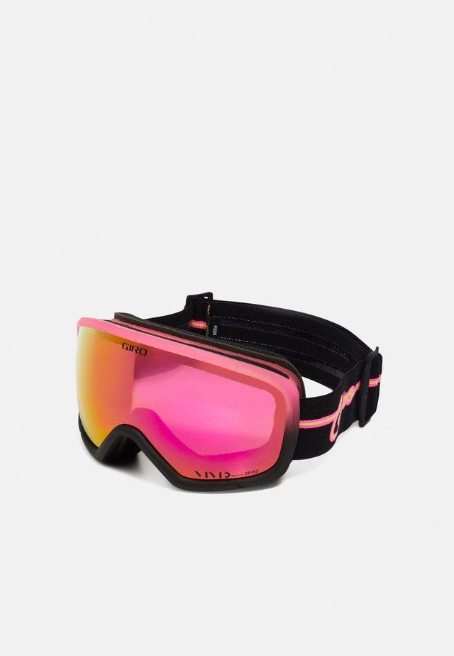 MIL - Masque de ski - pink neon lights/vivid pink