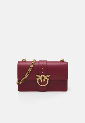 LOVE CLASSIC ICON SIMPLY - Sac bandoulière - dark red