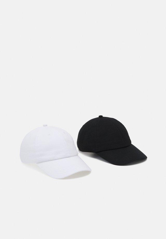 ONSTRISTIAN CAP 2 PACK - Kšiltovka - black/white