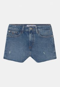Calvin Klein Jeans - RELAXED  - Denim shorts - blue - 0