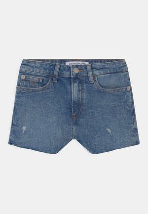 RELAXED  - Denim shorts - blue