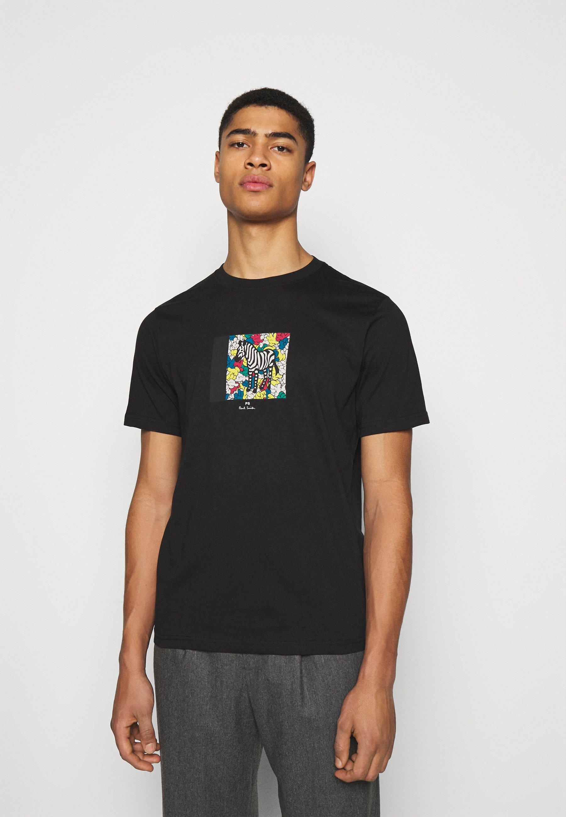 Homme MENS ZEBRA HANDS - T-shirt imprimé