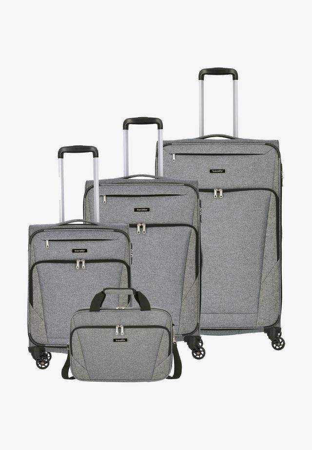 4 SET - Luggage set - anthrazit
