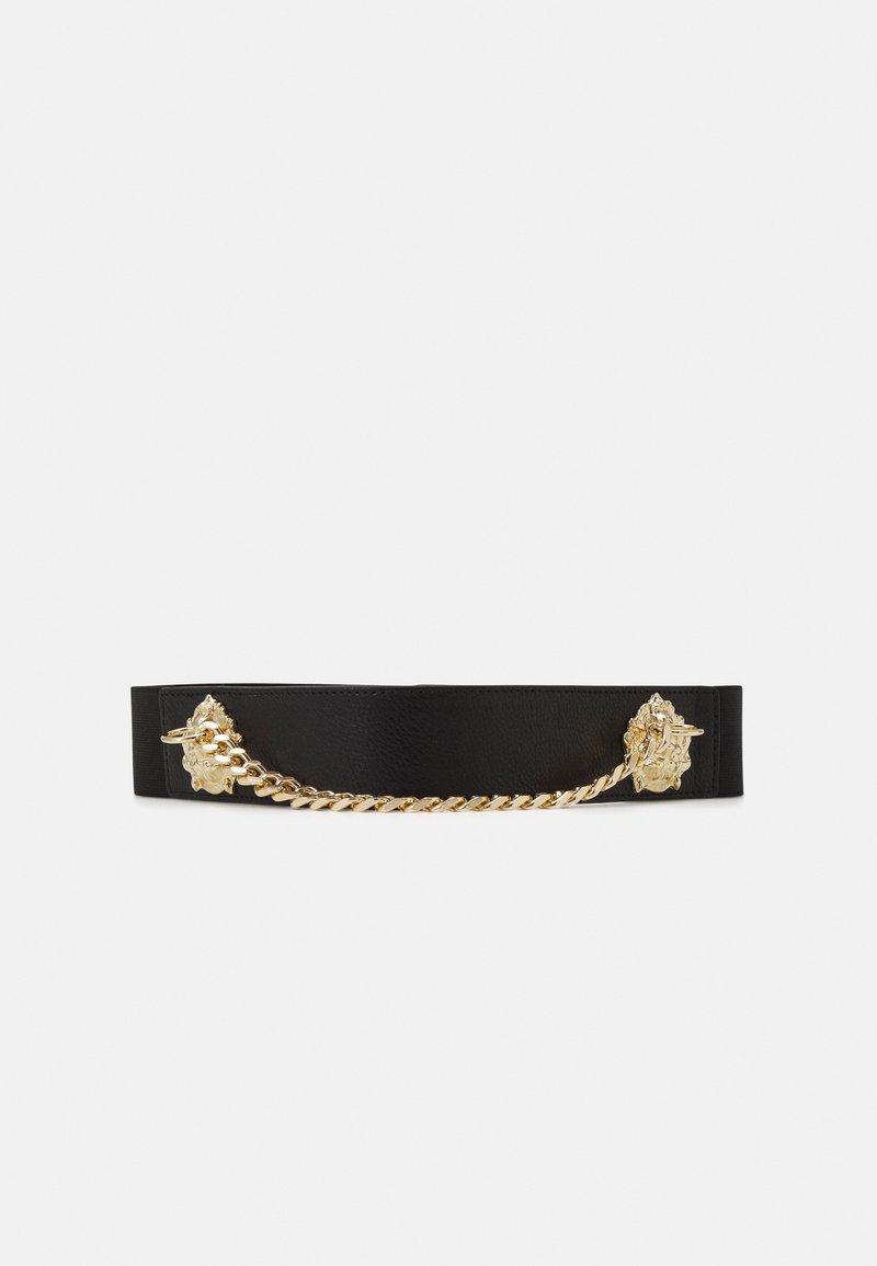 Pieces - PCXENIA WAIST BELT - Waist belt - black/gold-coloured