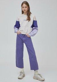 PULL&BEAR - Sweater - purple - 4