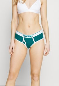 Diesel - UFPN-OXY PANTIES 3 PACK - Briefs - pink/petrole/turquoise - 3