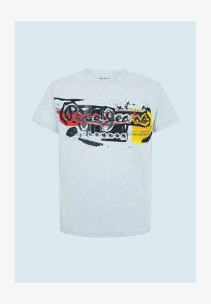 AMERSHAM - Print T-shirt - gris marl