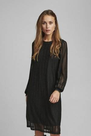 NUBINNA DRESS - Day dress - black