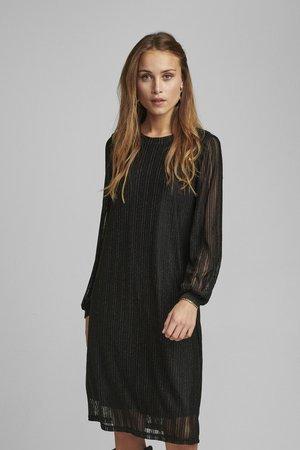 NUBINNA DRESS - Korte jurk - black