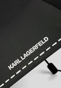 KARL LAGERFELD - Umbrella - black/ white - 3