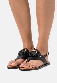See by Chloé - HANA - T-bar sandals - black - 0