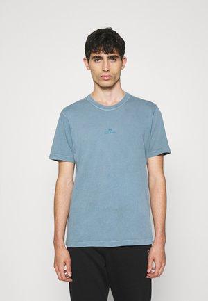 STACK LOGO - Basic T-shirt - blue