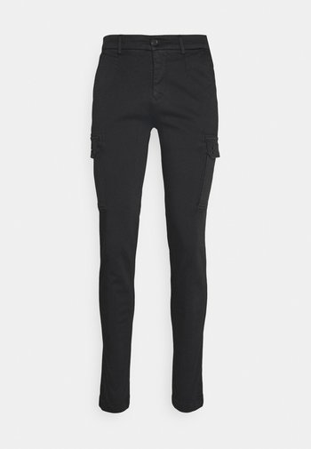 JAAN - Cargo trousers - black
