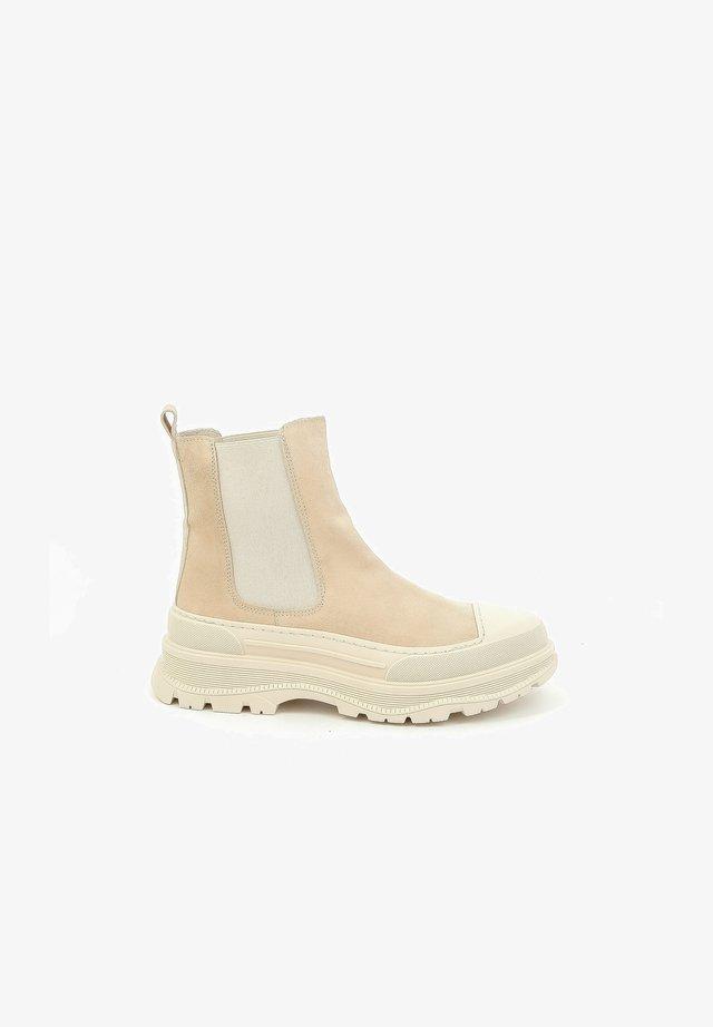 PADIUM - Korte laarzen - beige