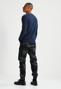 Only & Sons - ONSDAN STRUCTURE CREW NECK  - Stickad tröja - dress blues - 2