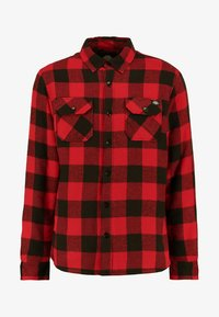 LANSDALE SHERPA LINED  - Camicia - red