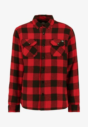LANSDALE SHERPA LINED  - Shirt - red
