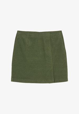 Mini skirt - fresh moss