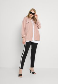 Nly by Nelly - OVERSIZED SHACKET - Blouse - mauve - 1