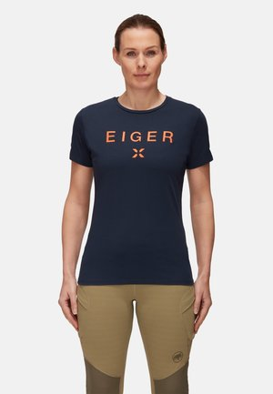 Print T-shirt - night prt1