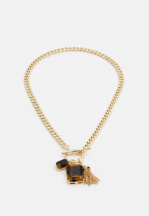 STONE - Collier - gold-coloured/tort