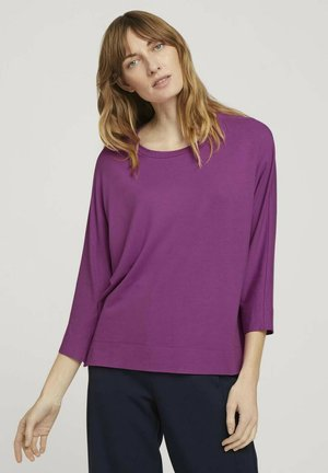 Long sleeved top - plum blossom lilac