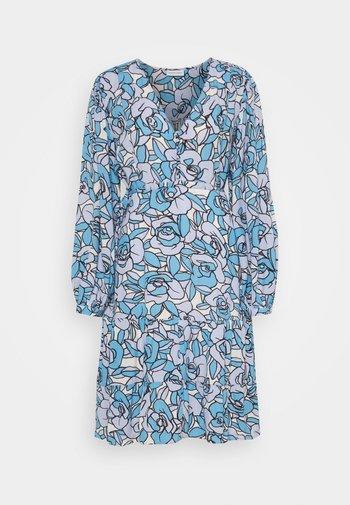 LOLA DRESS - Day dress - lavender/warm white