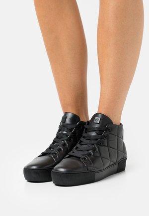 STEPPER - Sneakersy wysokie - schwarz