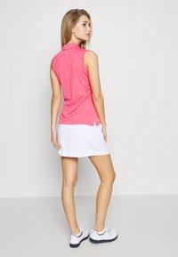 Callaway - TUMMY CONTROL SKORT - Sportovní sukně - bright white - 2