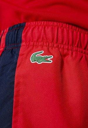 Korte broeken - rot / navy blau