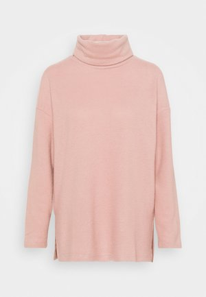 BELLA LONGLINE - Jumper - mid pink