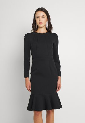KAHVERENGI - Shift dress - black