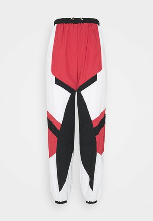 TOGGLE WAIST PANELLED - Tracksuit bottoms - multi coloured