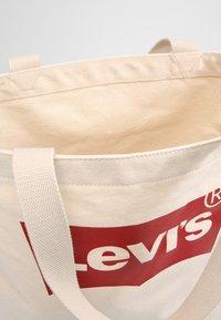 Levi's® - BATWING TOTE - Tote bag - ecru - 4