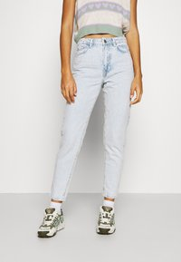 Gina Tricot - DAGNY MOM  - Relaxed fit -farkut - bleached blue - 0