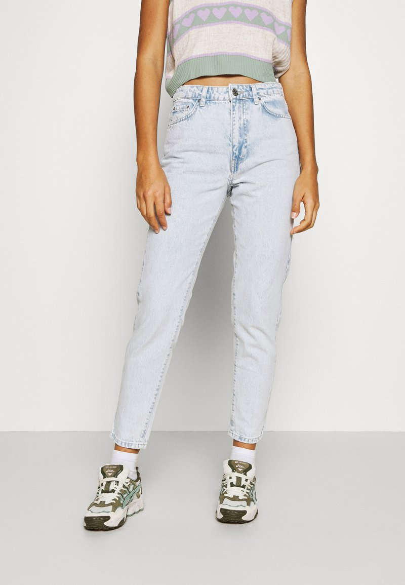 Gina Tricot - DAGNY MOM  - Relaxed fit -farkut - bleached blue