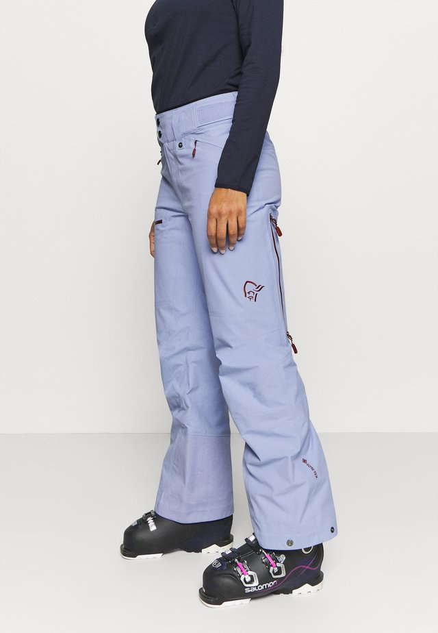 LOFOTEN GORE-TEX PANTS - Talvihousut - light blue