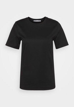 DEIRO - Jednoduché triko - black