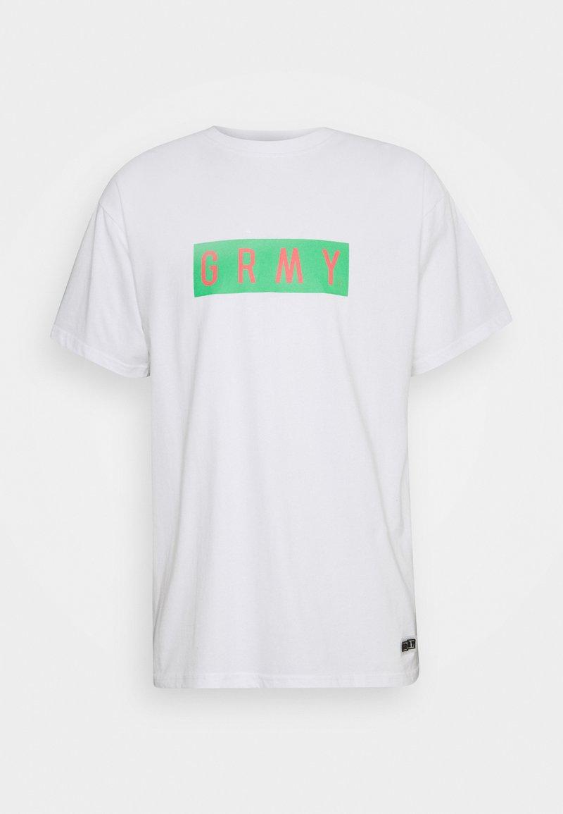 Grimey - FRENZY TEE UNISEX  - T-shirt med print - white