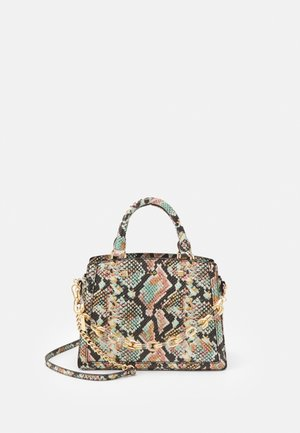ADEITHIEL - Tote bag - pastel multi/gold-coloured