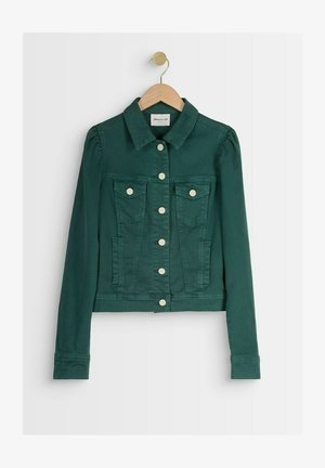 Denim jacket - vert tilleul
