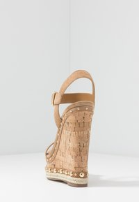 Steve Madden - MAURISA - High heeled sandals - tan - 5